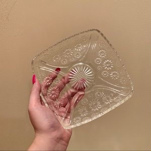 Vintage botanical tray